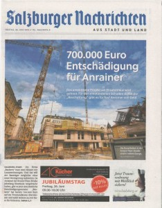 Titelblatt Lokalteil