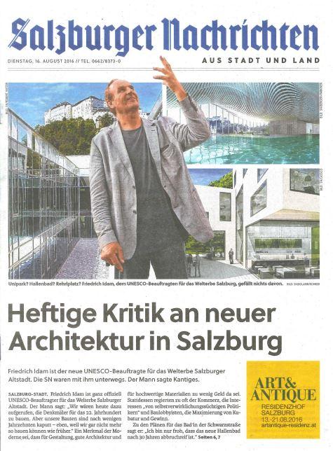 16.08.2016, SN Titelblatt